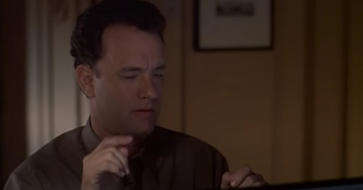 1633327000 HBO Max You have an e mail a romantic Tom Hanks