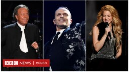 Shakira, Miguel Bosé, Julio Iglesias and other celebrities who appear in the Pandora Papers investigation - BBC News Mundo