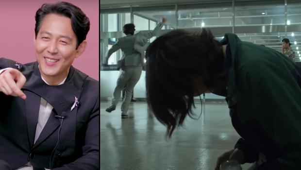 Lee Jung-Jae se souvient de la scène qu'il a tournée avec HoYeon Jung.  (Photo : capture d'écran)