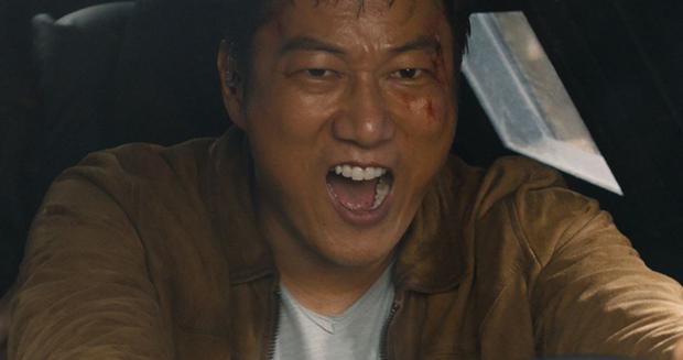 Sung Kang a révélé qu'il avait détruit une voiture en jouant Han dans