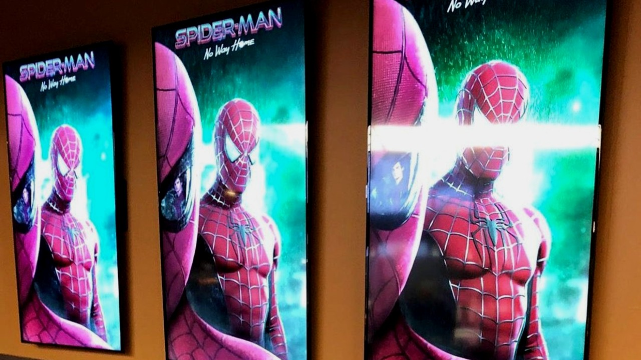 1634021077 Cinemas Already Announcing Spider Man No Way Home With Spider Verse Posters