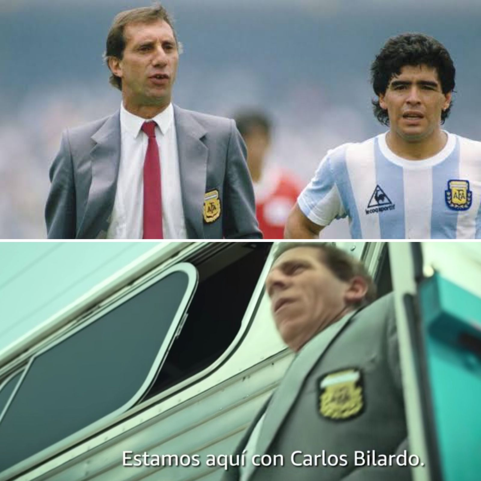 This is how the characters look: Who is who in the series 'Maradona: blessed owner'?