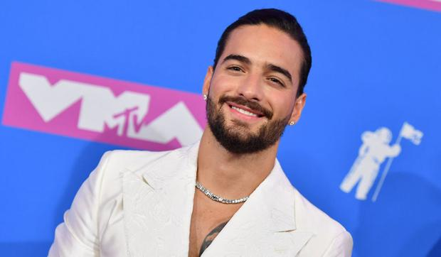 Colombian singer Maluma attends the 2018 MTV Video Music Awards at Radio City Music Hall on August 20, 2018 in New York City (Photo: Angela Weiss / AFP)
