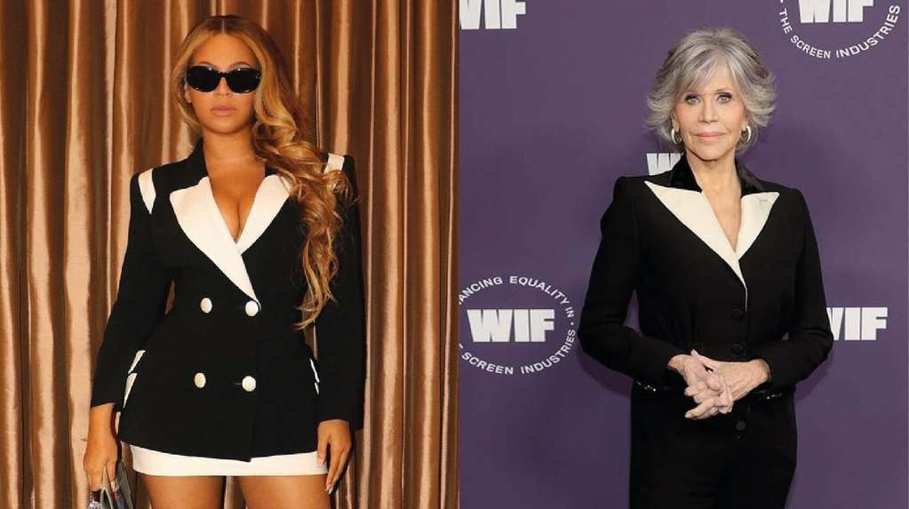 1634395240 Beyonce and Jane Fonda agreed on the look black and