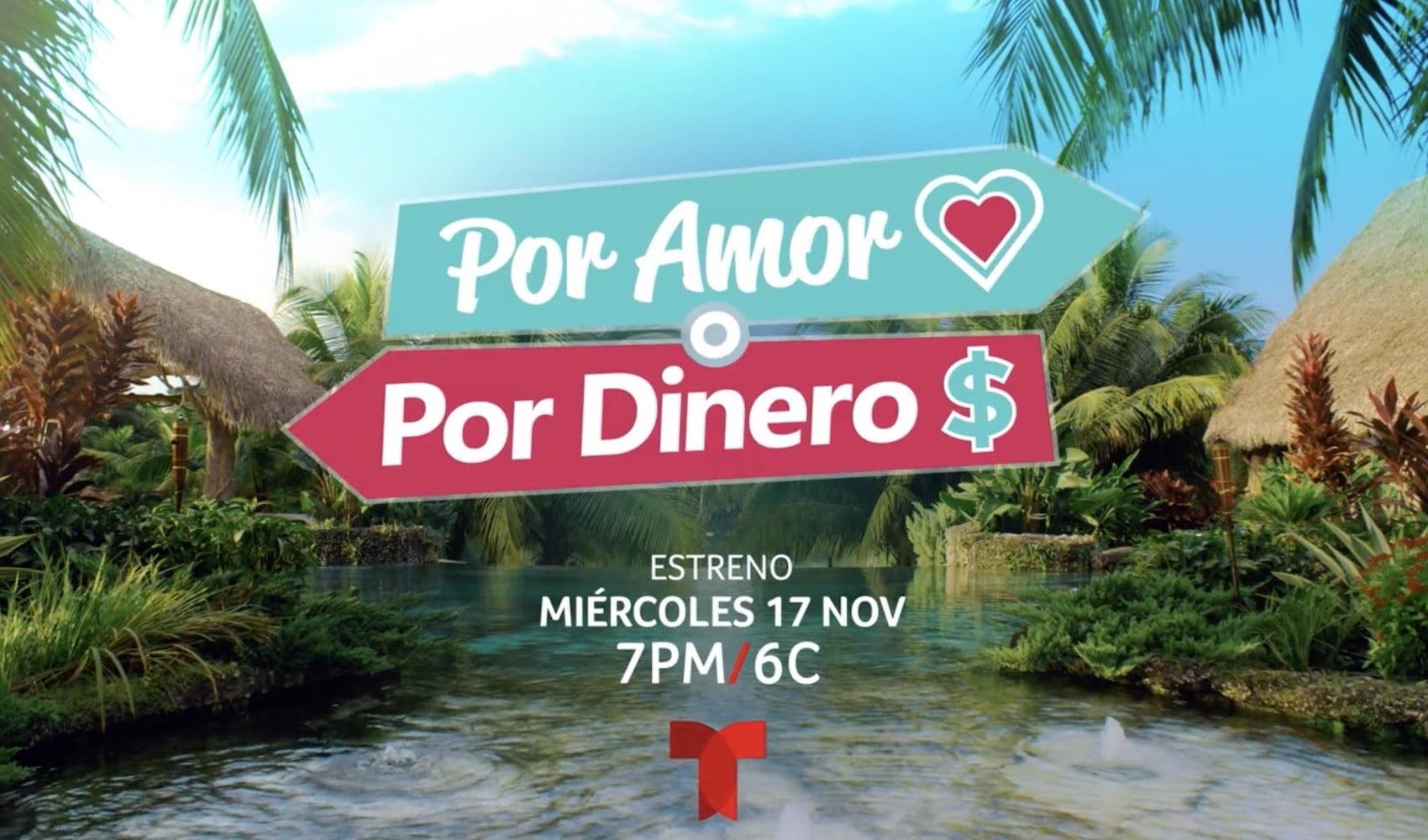 1634921557 Por Amor o Por Dinero how to watch Telemundos new