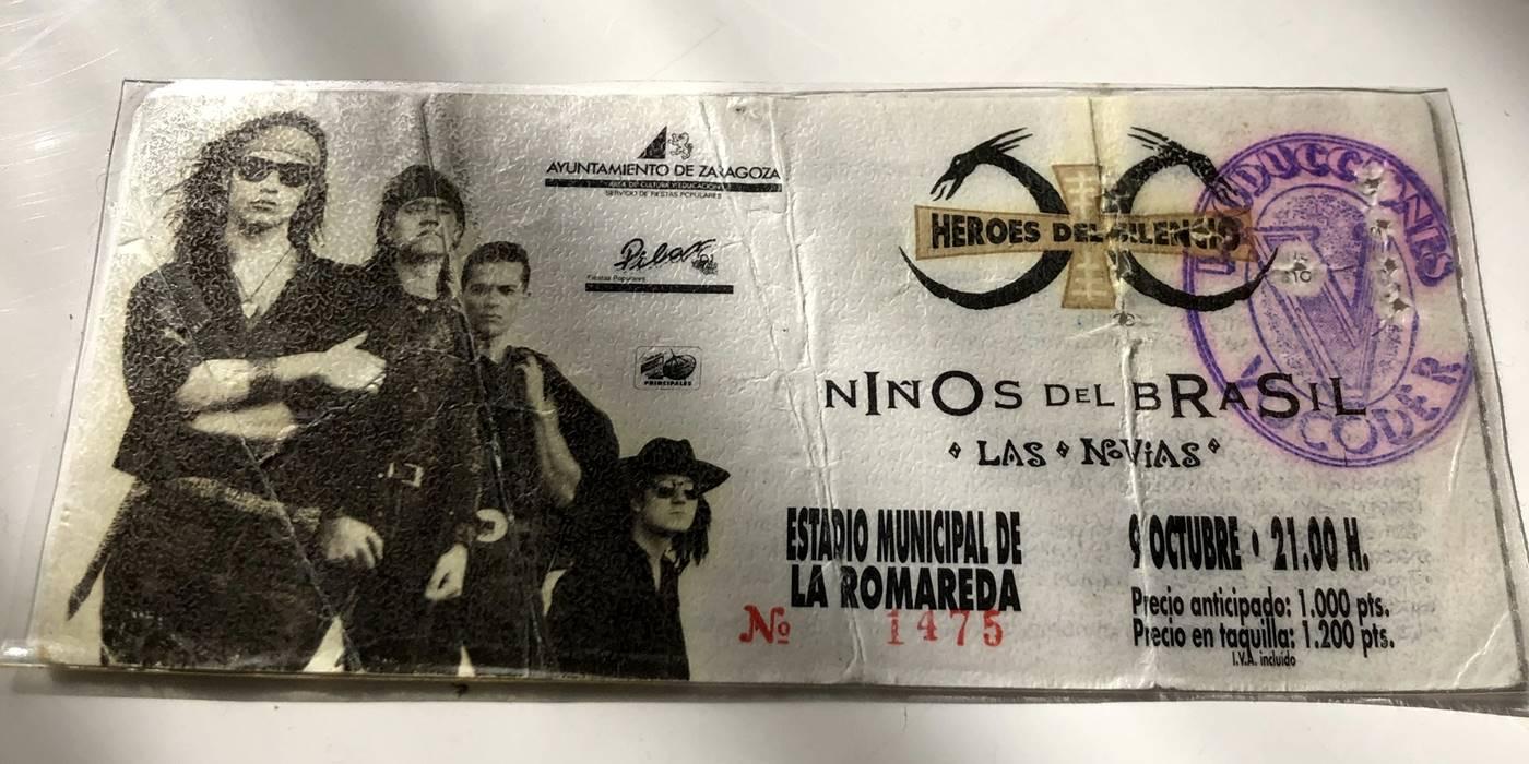 30 years of Heroes del Silencio Ninos del Brasil and