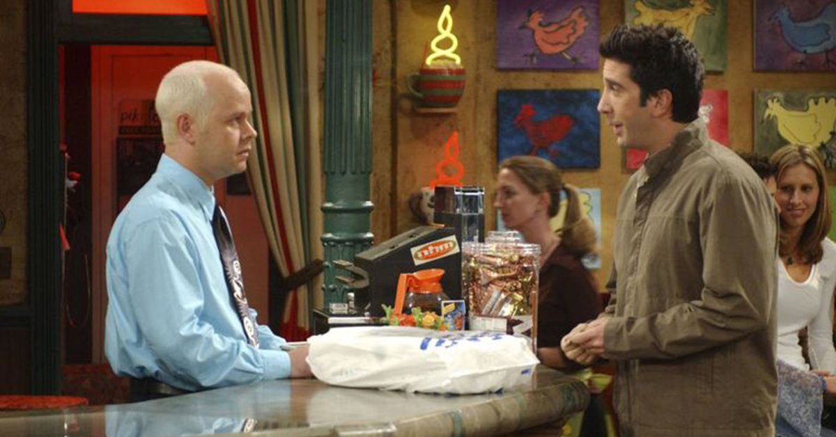 Actor James Michael Tyler known for his role as Gunther