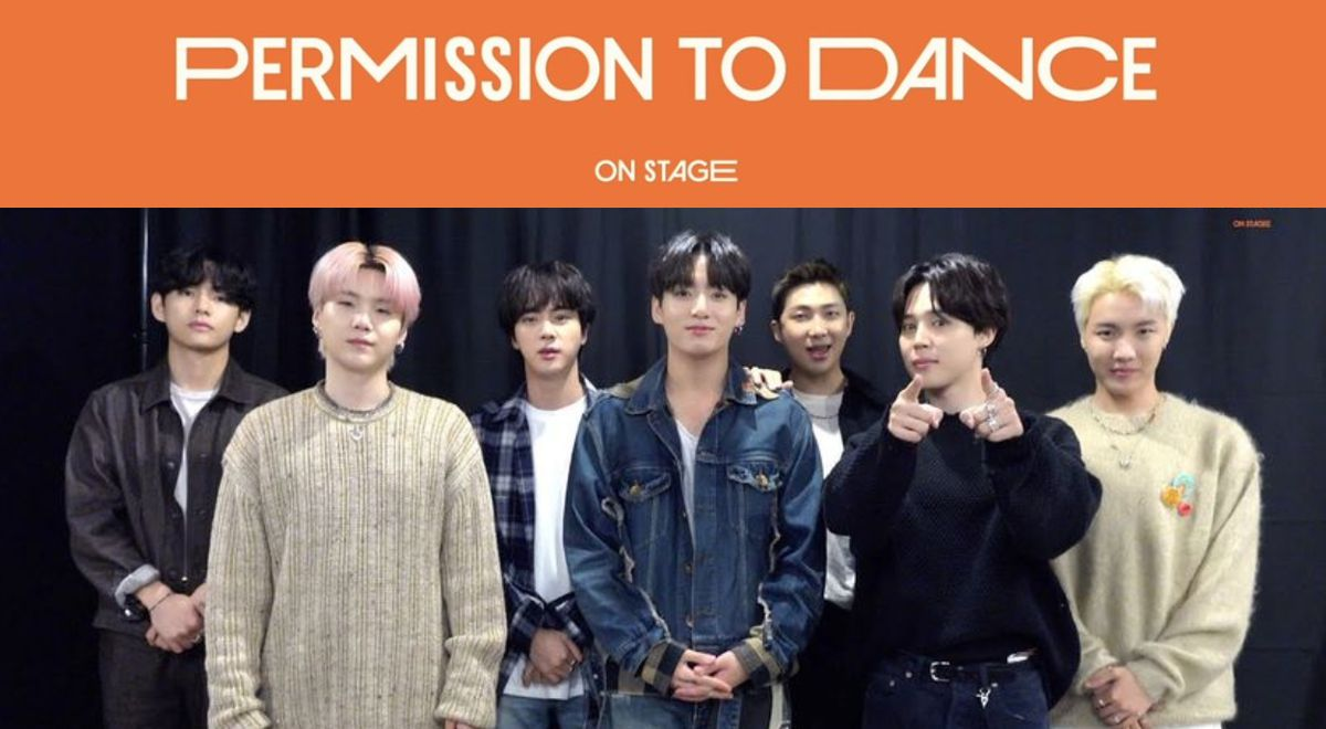 BTS Permission to dance on stage in Los Angeles starts