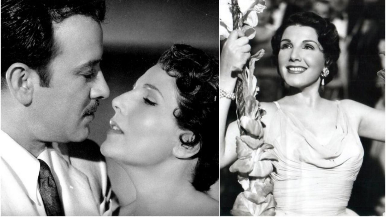 Beautiful actress who worked with Pedro Infante slapped the wife