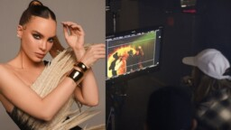 Belinda makes her directorial debut in the video for 'La Sinvergüenza' by Christian Nodal and the MS Band