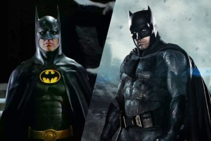 Ben Affleck and Michael Keaton got very excited to return