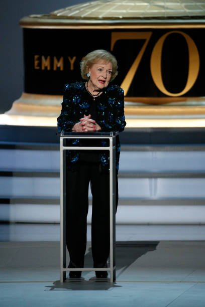 Betty White never remarried after Allen Luddens death and is