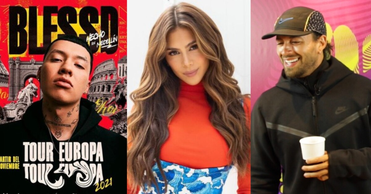 Blessd Greeicy Feid and Morat announce international concert tours