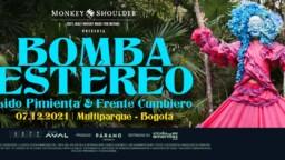 Bomba Estéreo, Lido Pimienta and Frente Cumbiero in concert in Bogotá and Medellín