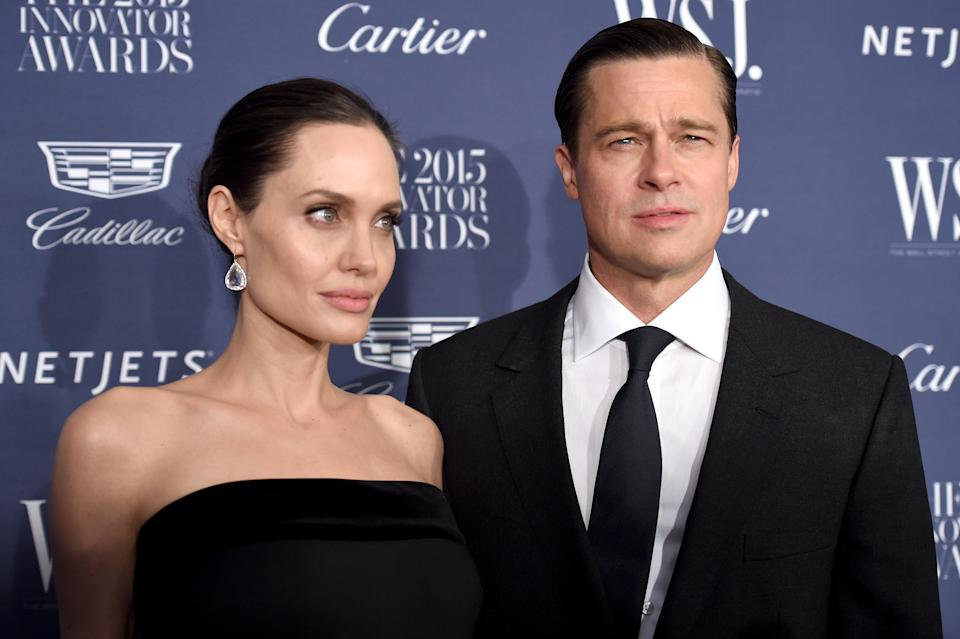 Brad Pitt and Angelina Jolie fight over French castle custody