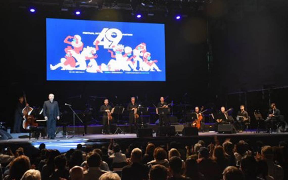Cervantino 2021 Tango concert for life in the Alhondiga de