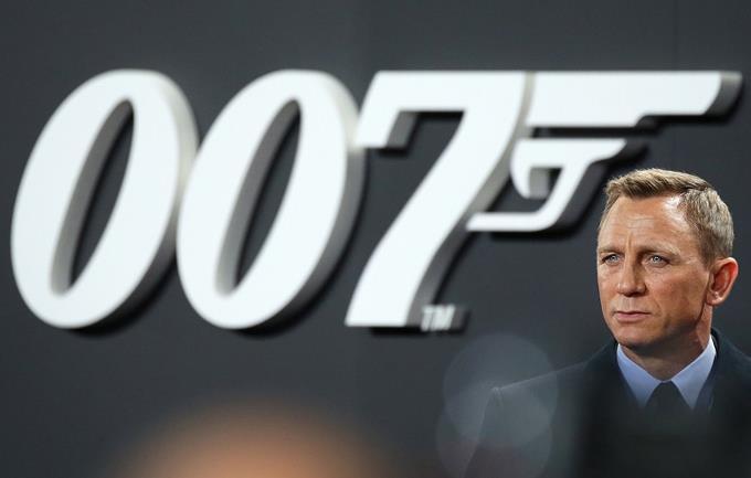 Daniel Craig the last 007 for now