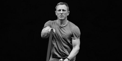 Daniel Craigs continuous training during filming for No Time to
