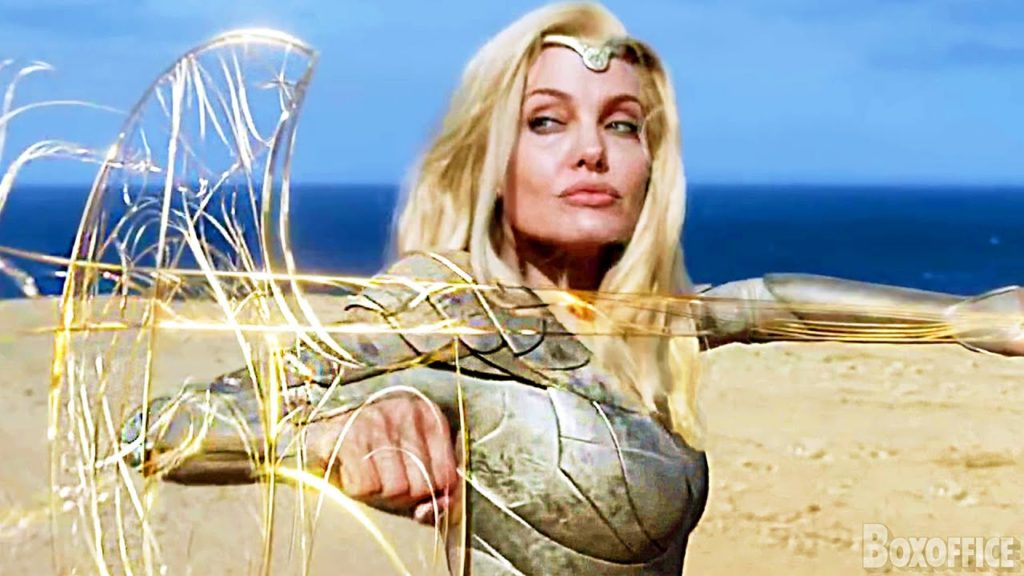 Eternals why did Angelina Jolie and Salma Hayek agree to