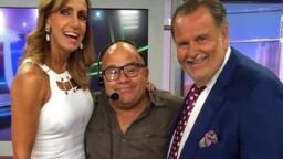 Gossip No Like informs the police raid on the television house of Raúl de Molina and Lili Estefan