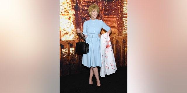 Halloween Kills star Jamie Lee Curtis channels mom Janet Leigh
