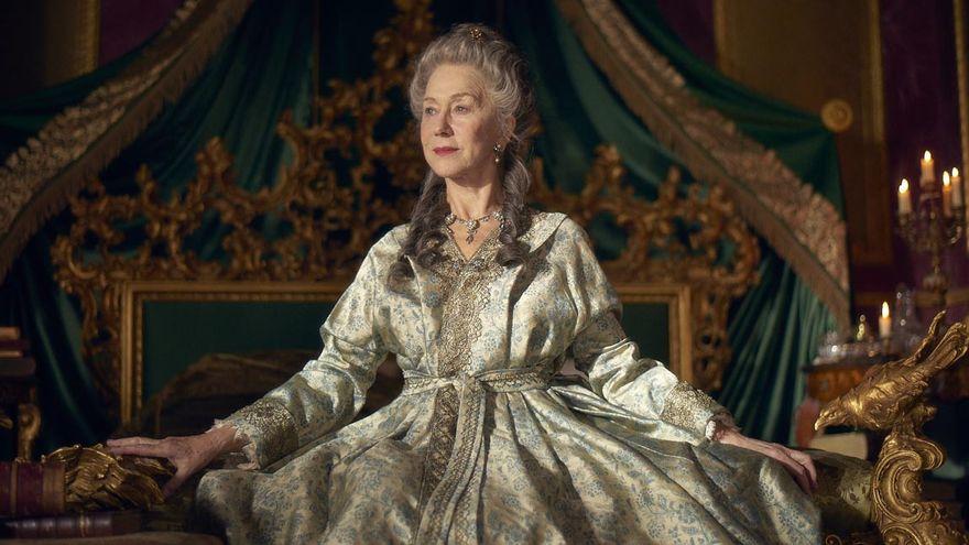 Helen Mirren the actress of the queens from Elizabeth I