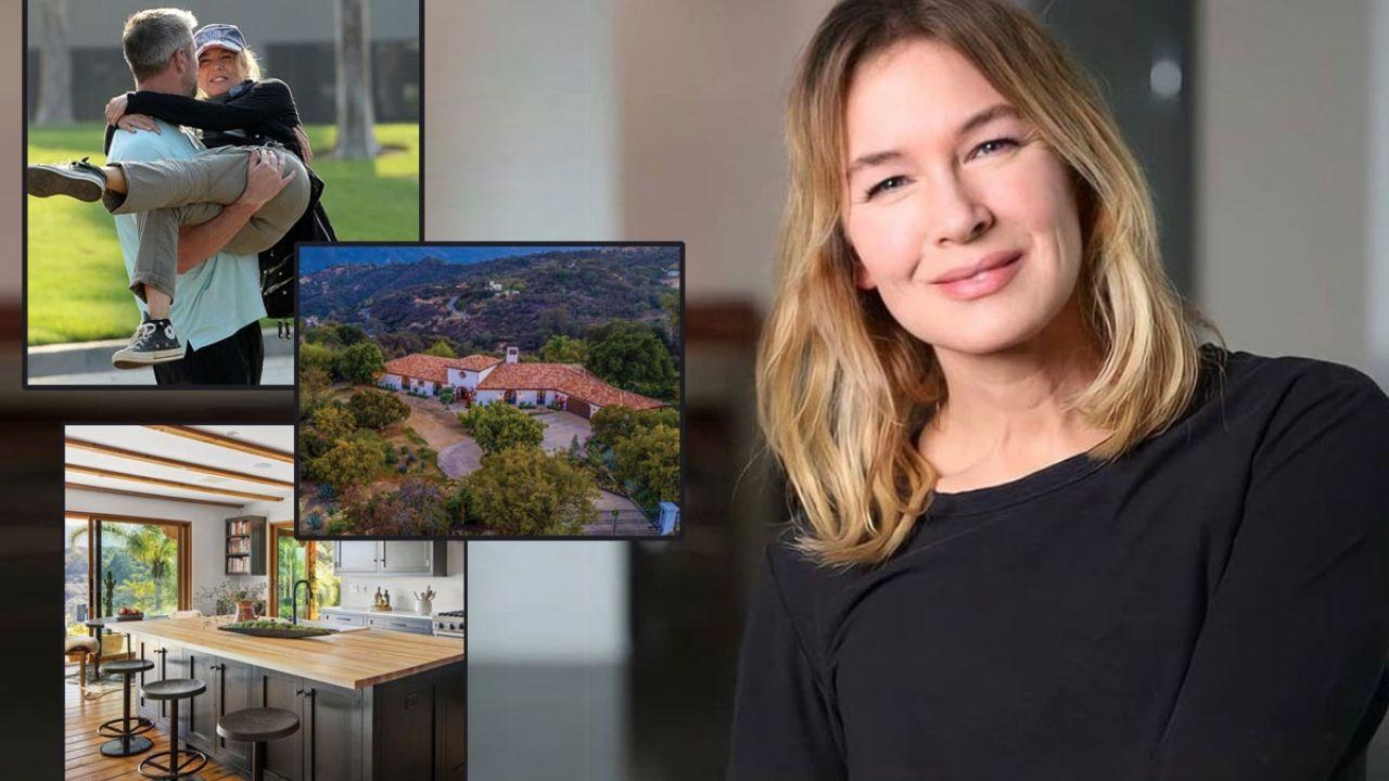 How is Renee Zellwegers spectacular Los Angeles mansion