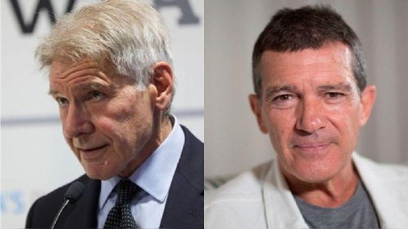 Indiana Jones 5 Harrison Ford and Antonio Banderas coincide on