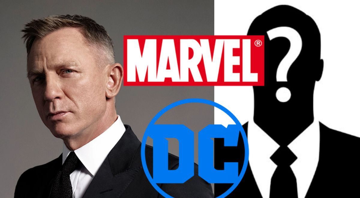 James Bond five Marvel and DC actors who could replace