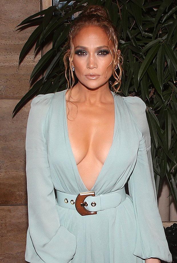 Jennifer Lopez rocks sexy sheer tank top in hot new