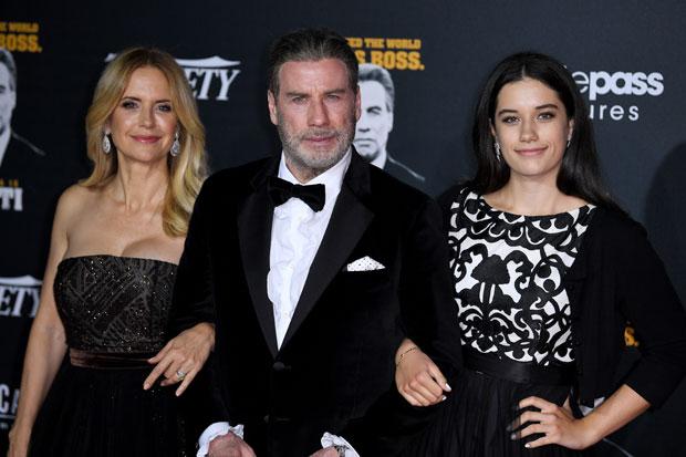 John Travoltas daughter Ella calls him her hero in tribute