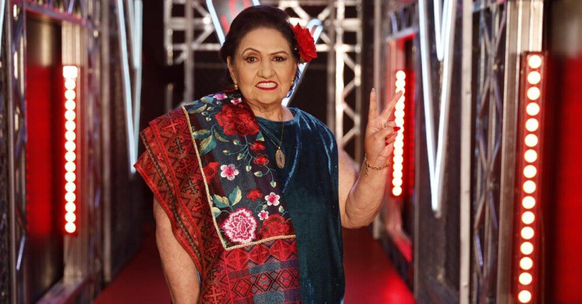 La Voz Senior she is Maria Nelfi the new winner