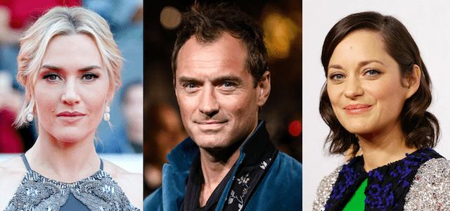 Lee Kate Winslet Jude Law and Marion Cotillard in War