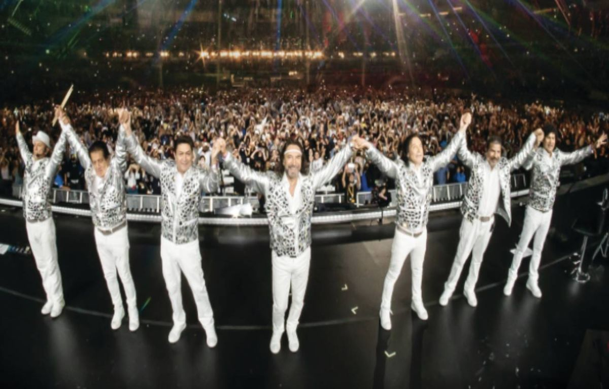 Los Bukis end with sold out their tour Una Historia