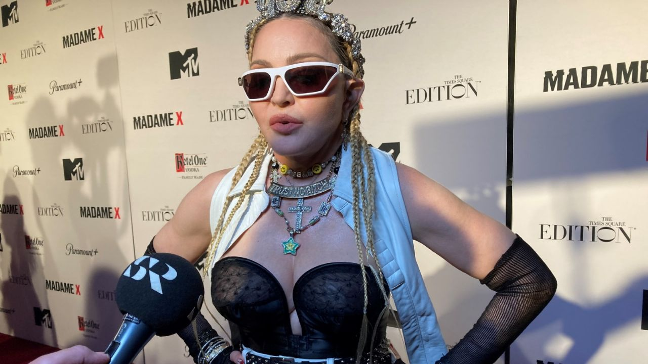 Madonna shares some thoughts with the public about her new