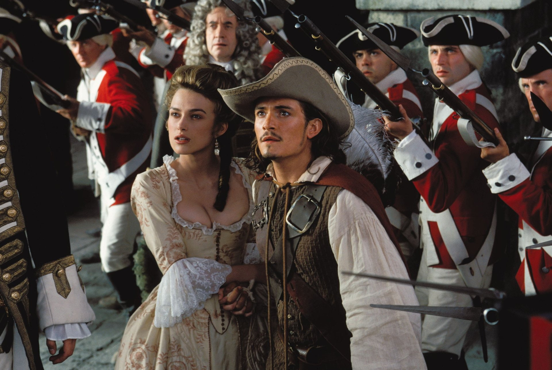 Pirates of the Caribbean on W9 Keira Knightley did not