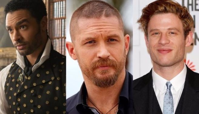 Rege Jean Page Tom Hardy and James Norton favorites to be