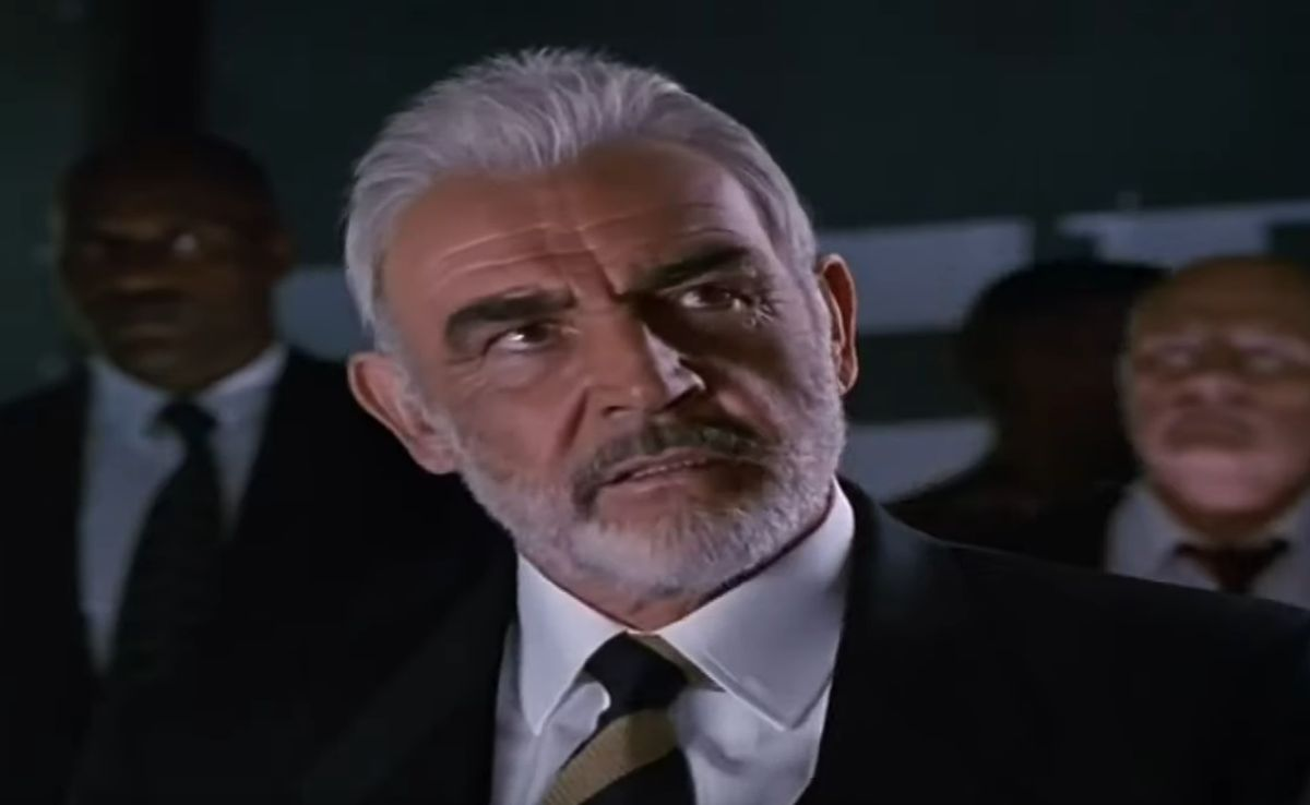Rock with Sean Connery could be considered a James Bond