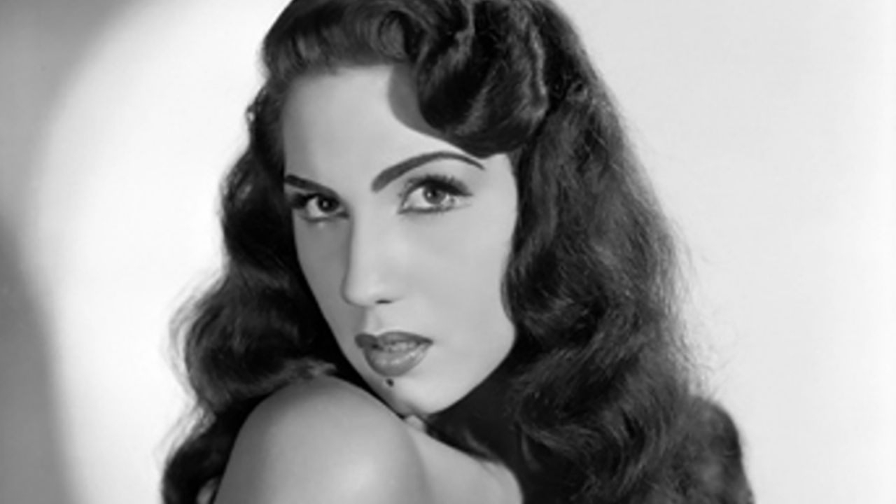 She was the most beautiful actress in the Cine de
