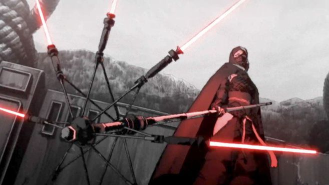 Star Wars plunges into the world of anime with its