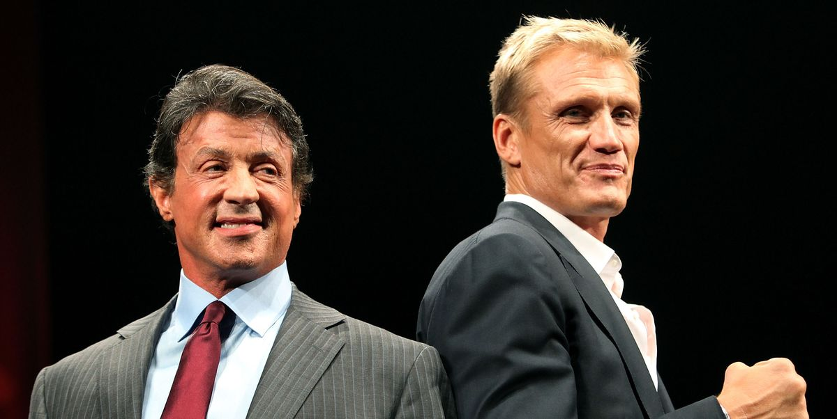 Sylvester Stallone and Dolph Lundgren reunite for the new Rocky