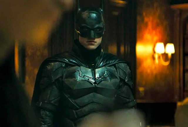 The Batman Robert Pattinson wore the Val Kilmer costume