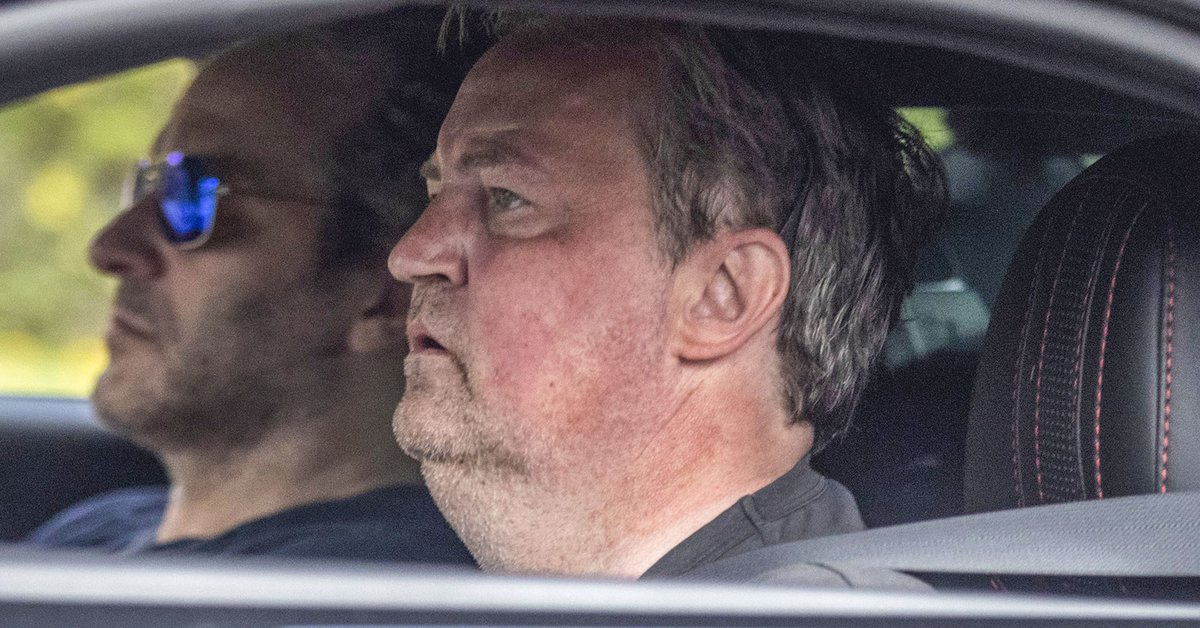The Matthew Perry Photographs That Raised Concern