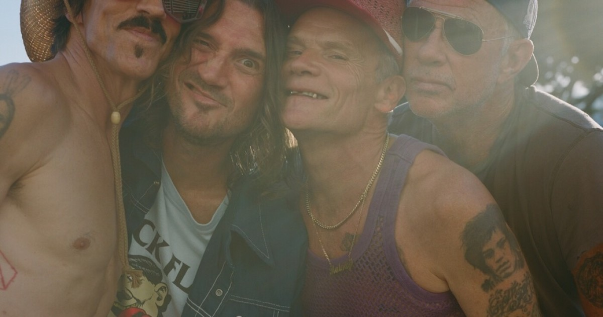 The Red Hot Chili Peppers 2022 tour includes a concert