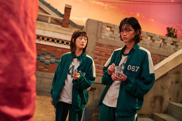 Sae Byeok est une jeune nord-coréenne qui entre dans le jeu pour donner une vie meilleure à son petit frère.  (Photo : Netflix)