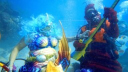 The Underwater Music Festival in Florida seeks to generate ecological awareness