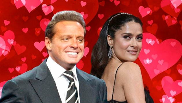The iconic photo of Luis Miguel and Salma Hayek that