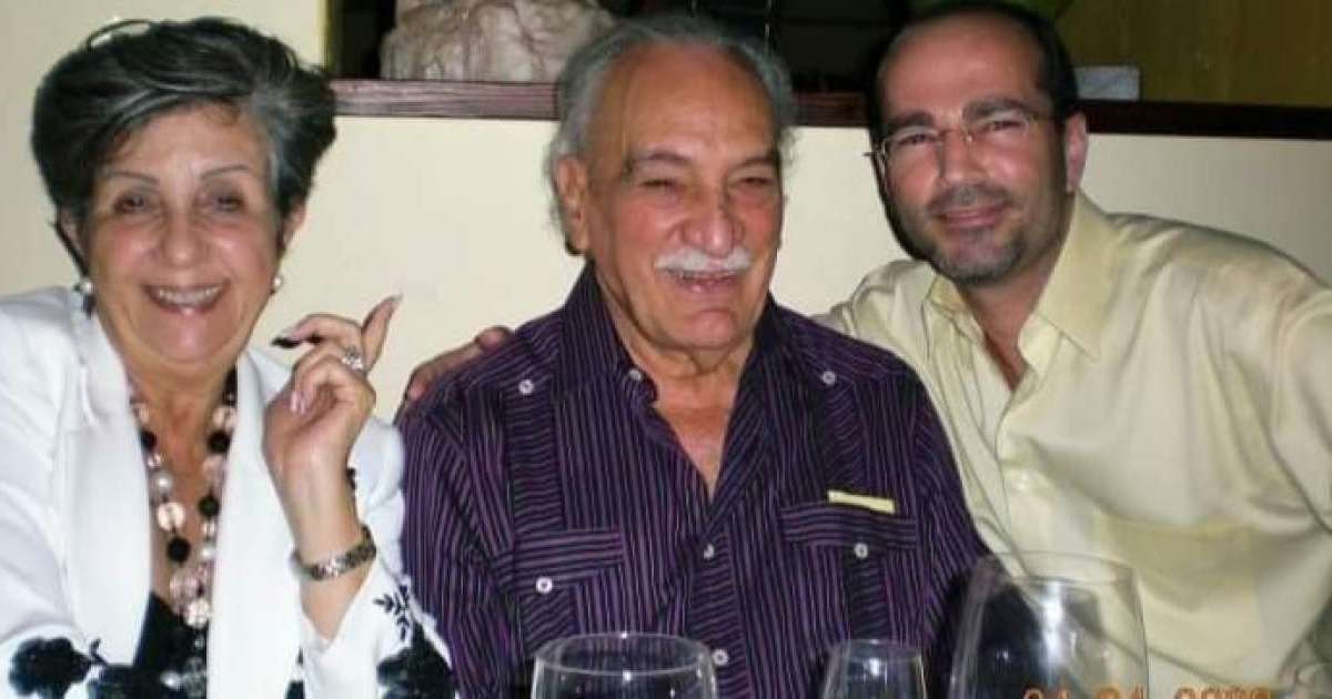 The widow of the famous Cuban comedian Guillermo Alvarez Guedes