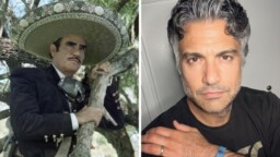 This is how Jaime Camil, characterized by Vicente Fernández, looks for his new series