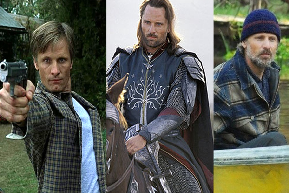 To discover or enjoy again five films in which Viggo